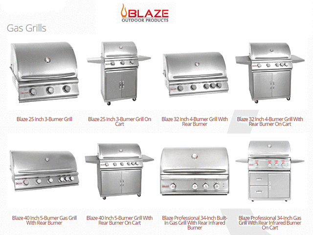 Blaze Grills - Gas Grills
